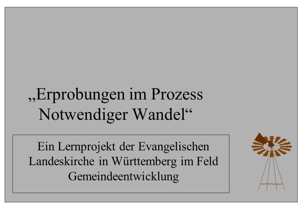 """""""Erprobungen im Prozess Notwendiger Wandel"""