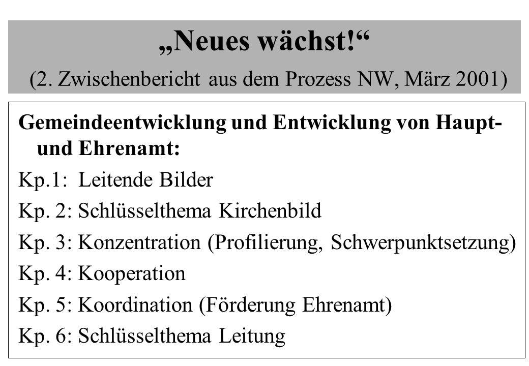 """""""Neues wächst! (2. Zwischenbericht aus dem Prozess NW, März 2001)"""