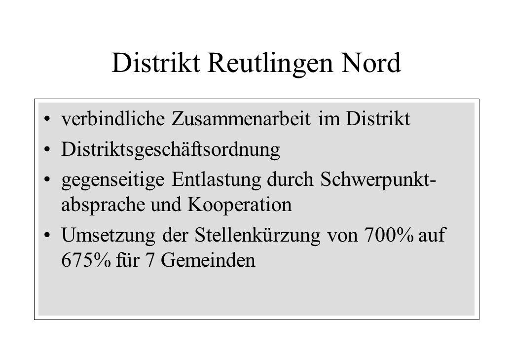 Distrikt Reutlingen Nord