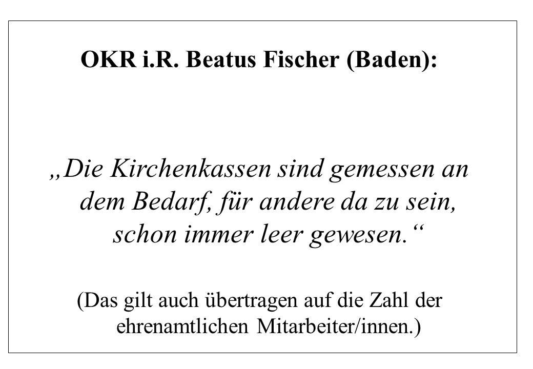 OKR i.R. Beatus Fischer (Baden):