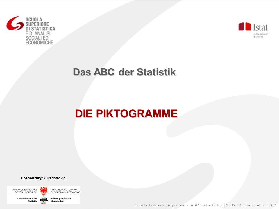 DIE PIKTOGRAMME Das ABC der Statistik 1
