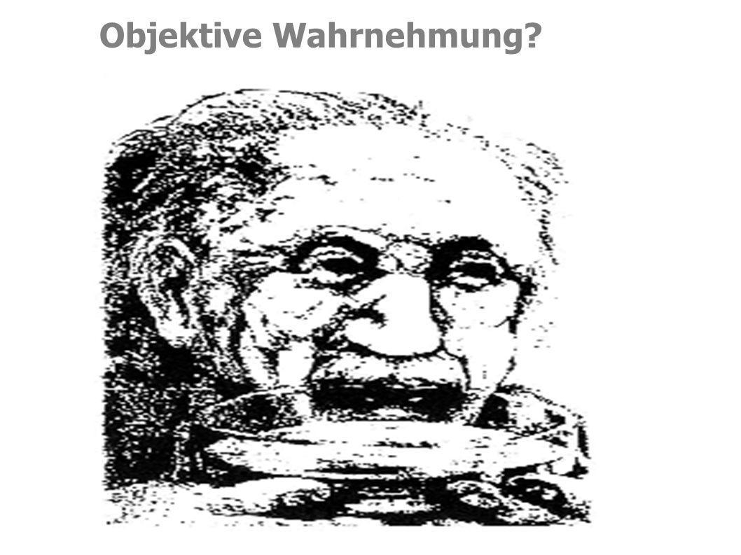 Objektive Wahrnehmung