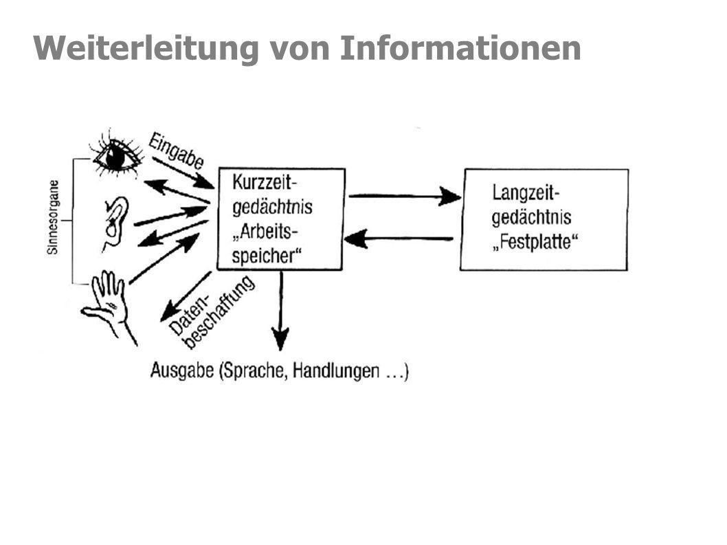 Weiterleitung von Informationen