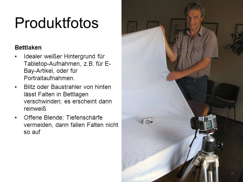 Produktfotos Bettlaken