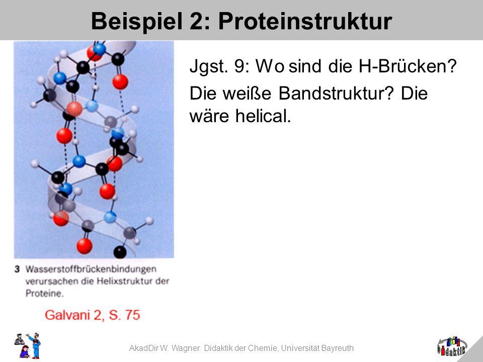 Beispiel 2: Proteinstruktur