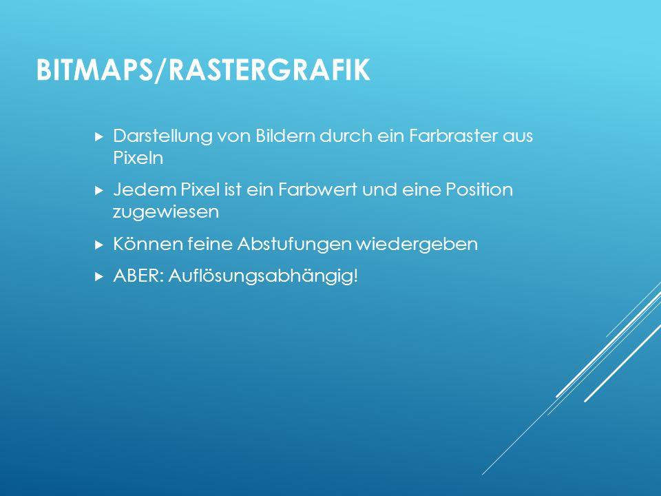 Bitmaps/Rastergrafik