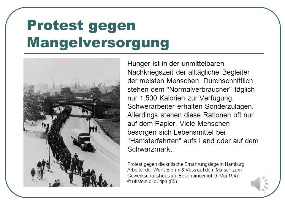Protest gegen Mangelversorgung