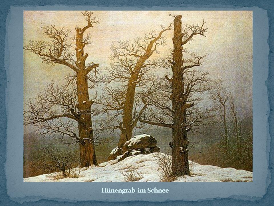 Hünengrab im Schnee