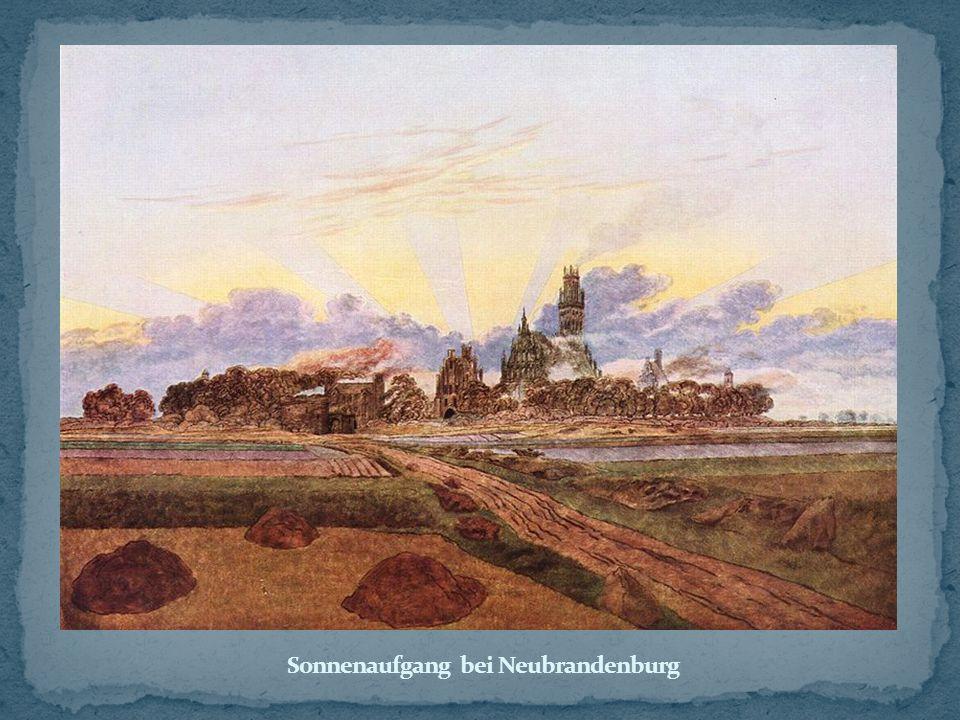 Sonnenaufgang bei Neubrandenburg