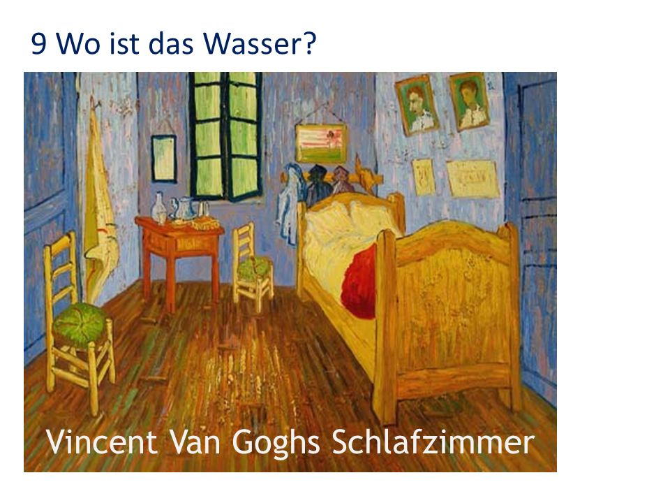 Vincent Van Goghs Schlafzimmer