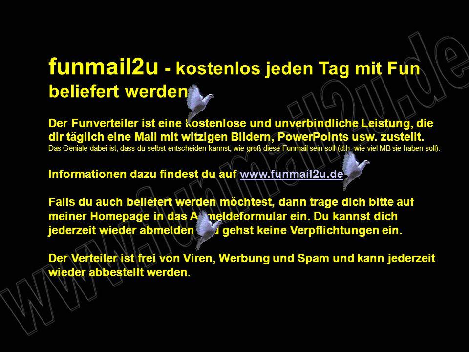 funmail2u - kostenlos jeden Tag mit Fun beliefert werden