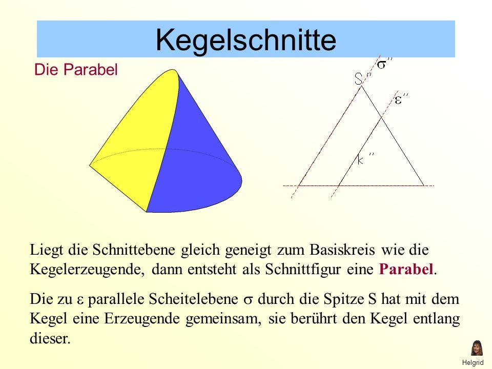 Attractive Kegelschnitte Parabel Arbeitsblatt Vignette ...