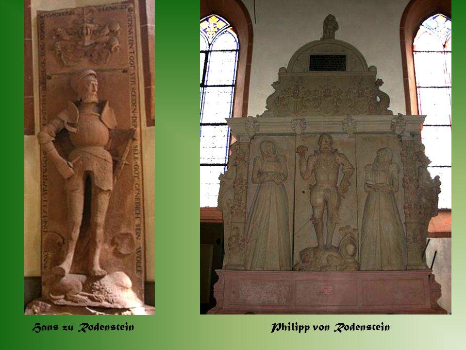 Hans zu Rodenstein Philipp von Rodenstein