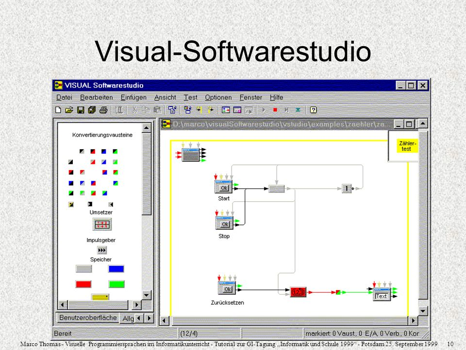 Visual-Softwarestudio