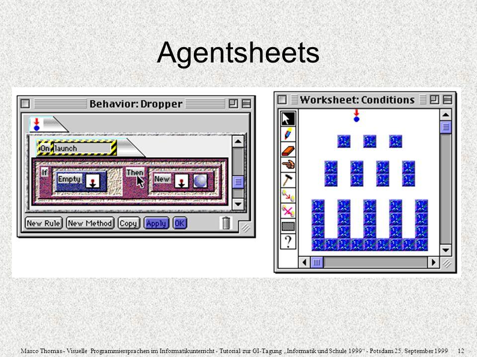 Agentsheets 31.03.2017 Agentsheets/VisualAgenTalk (Macintosh)