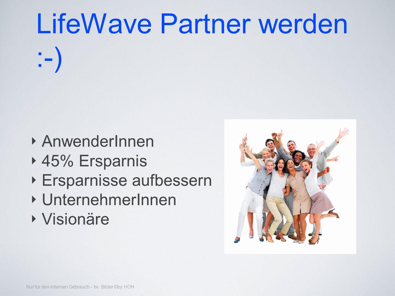 LifeWave Partner werden :-)