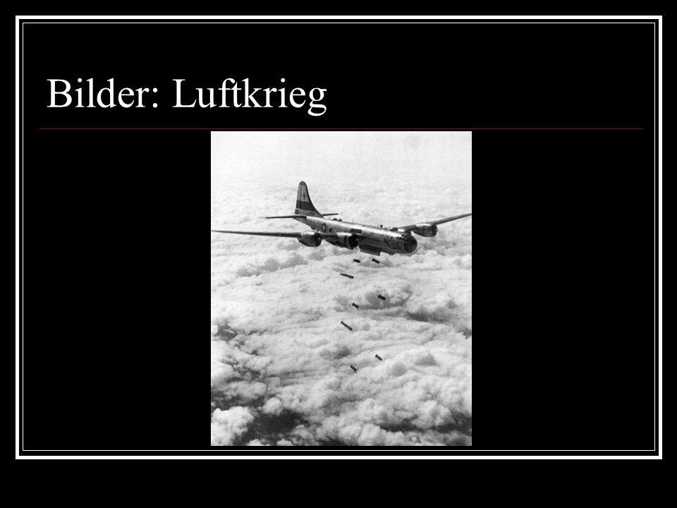 Bilder: Luftkrieg