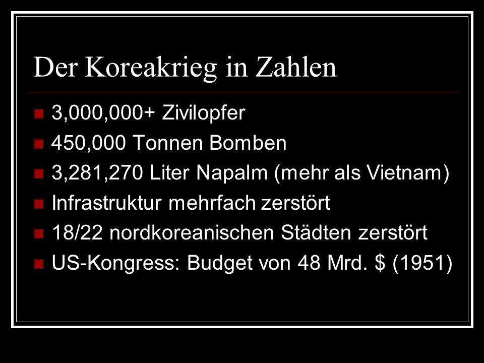 Der Koreakrieg in Zahlen