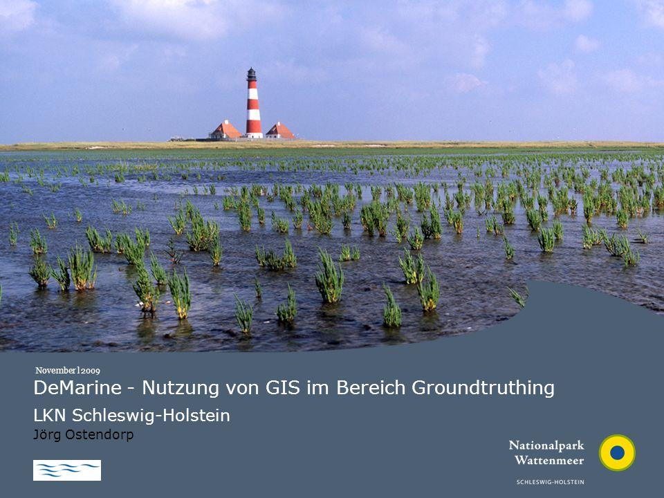 DeMarine - Nutzung von GIS im Bereich Groundtruthing