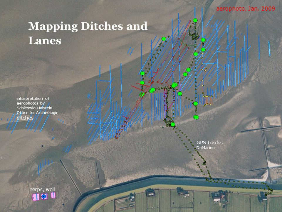 Mapping Ditches and Lanes