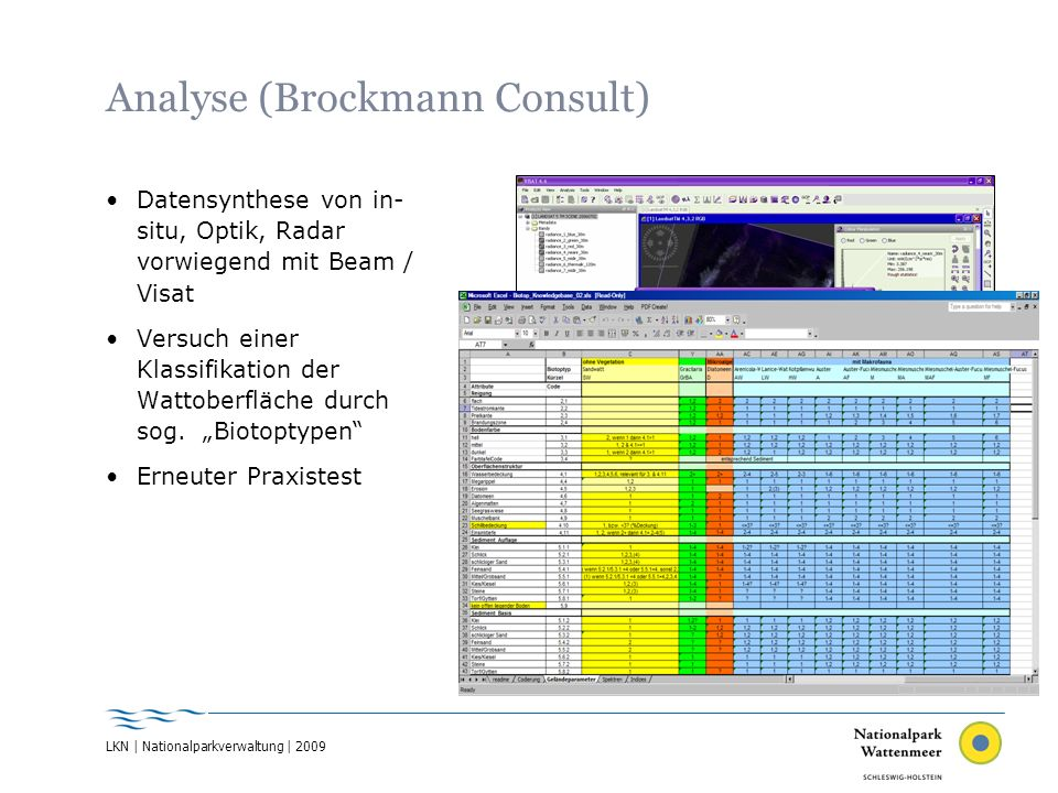 Analyse (Brockmann Consult)
