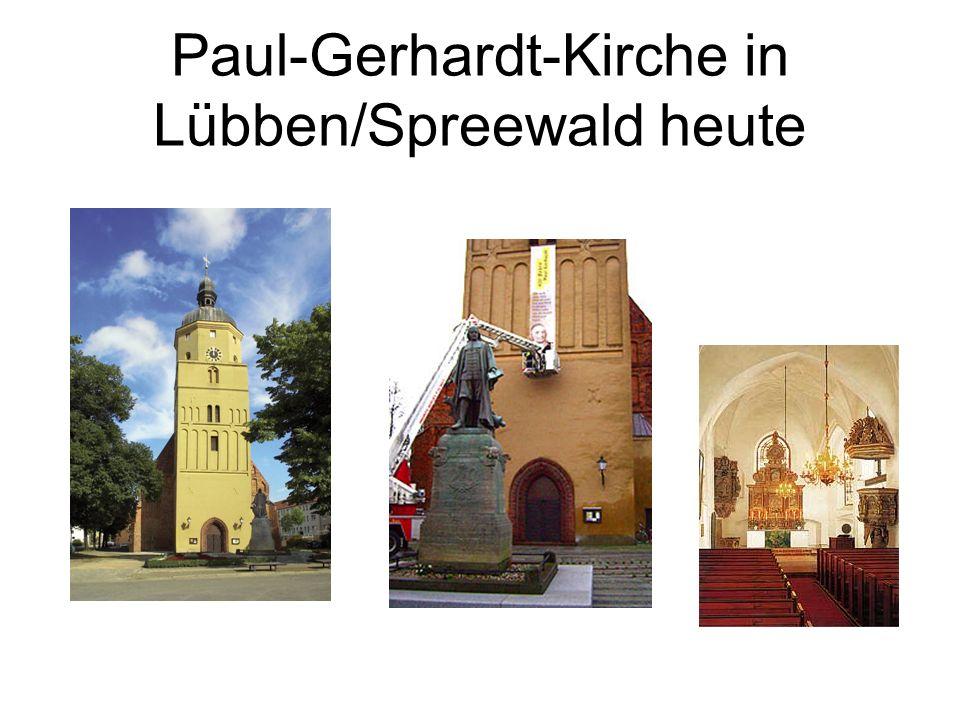 Paul-Gerhardt-Kirche in Lübben/Spreewald heute