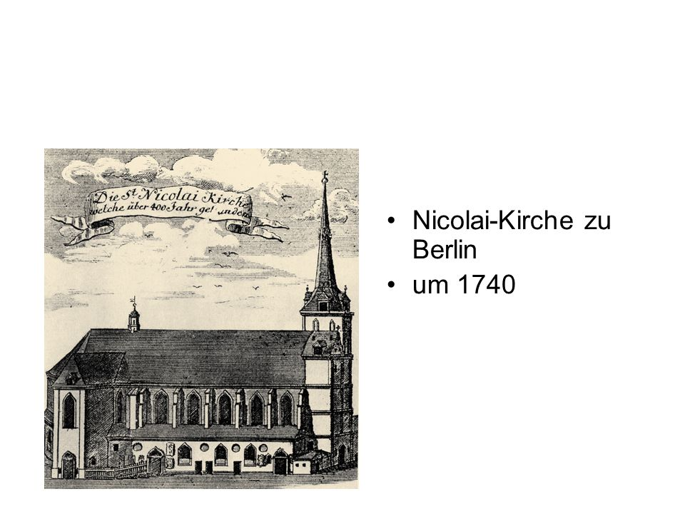Nicolai-Kirche zu Berlin