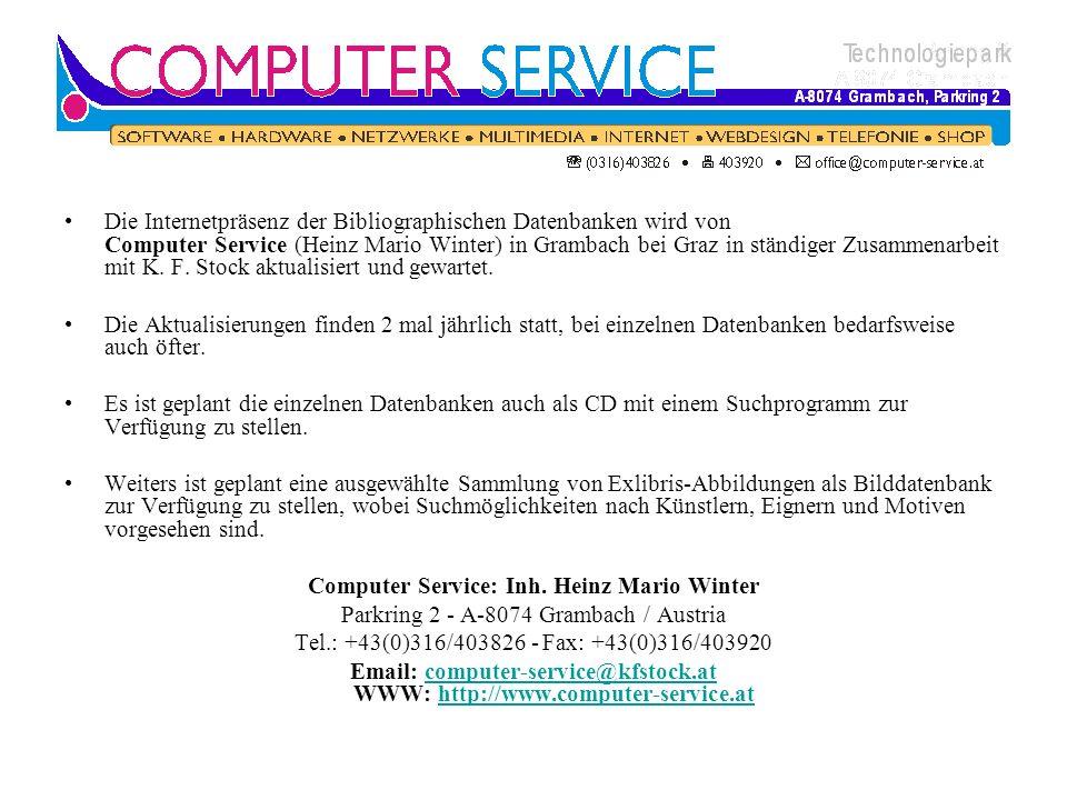 Computer Service: Inh. Heinz Mario Winter