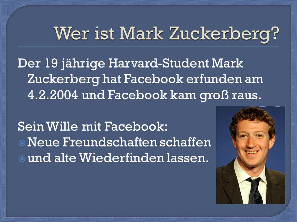 Wer ist Mark Zuckerberg