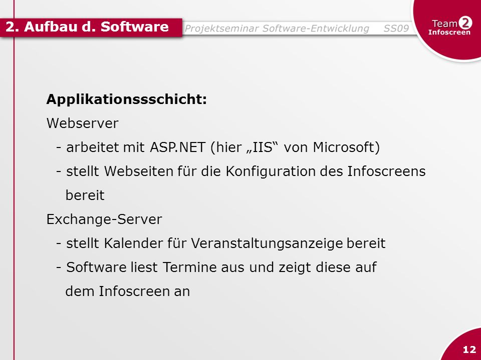 Applikationssschicht: Webserver
