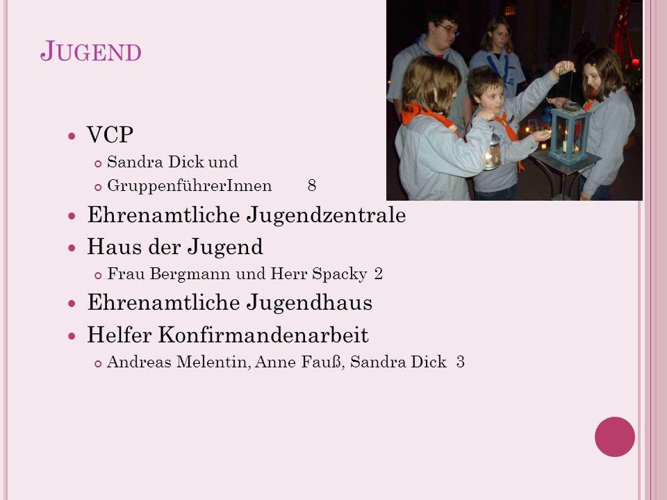 Jugend VCP Ehrenamtliche Jugendzentrale Haus der Jugend