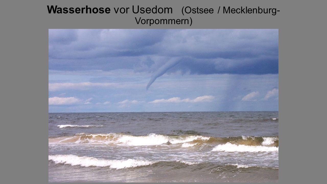 Wasserhose vor Usedom (Ostsee / Mecklenburg-Vorpommern)