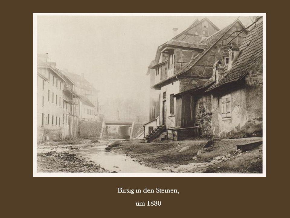 Birsig in den Steinen, um 1880