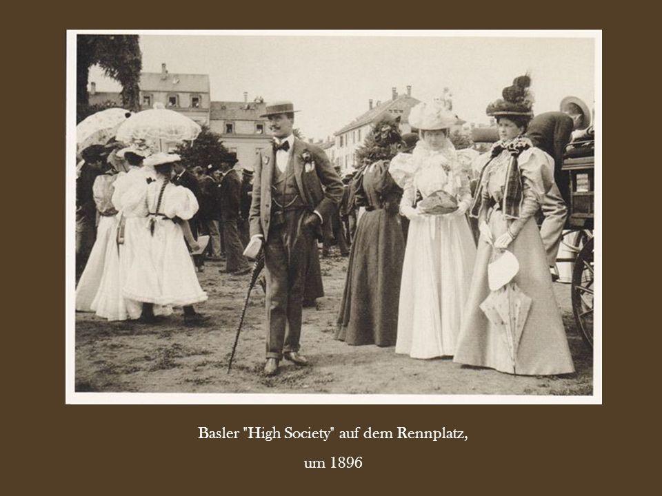 Basler High Society auf dem Rennplatz,