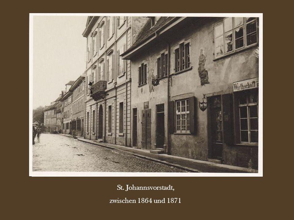 St. Johannsvorstadt, zwischen 1864 und 1871