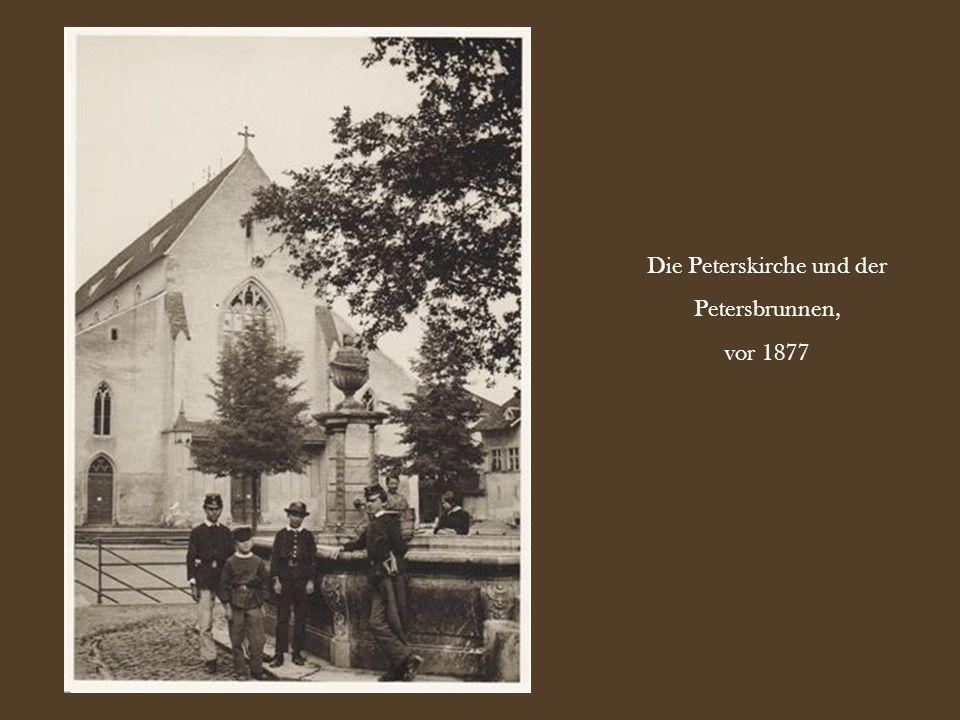 Die Peterskirche und der