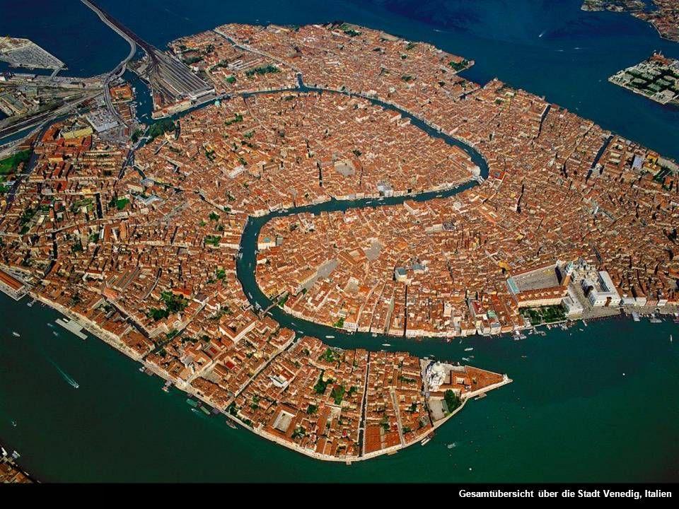 Gesamtübersicht über die Stadt Venedig, Italien