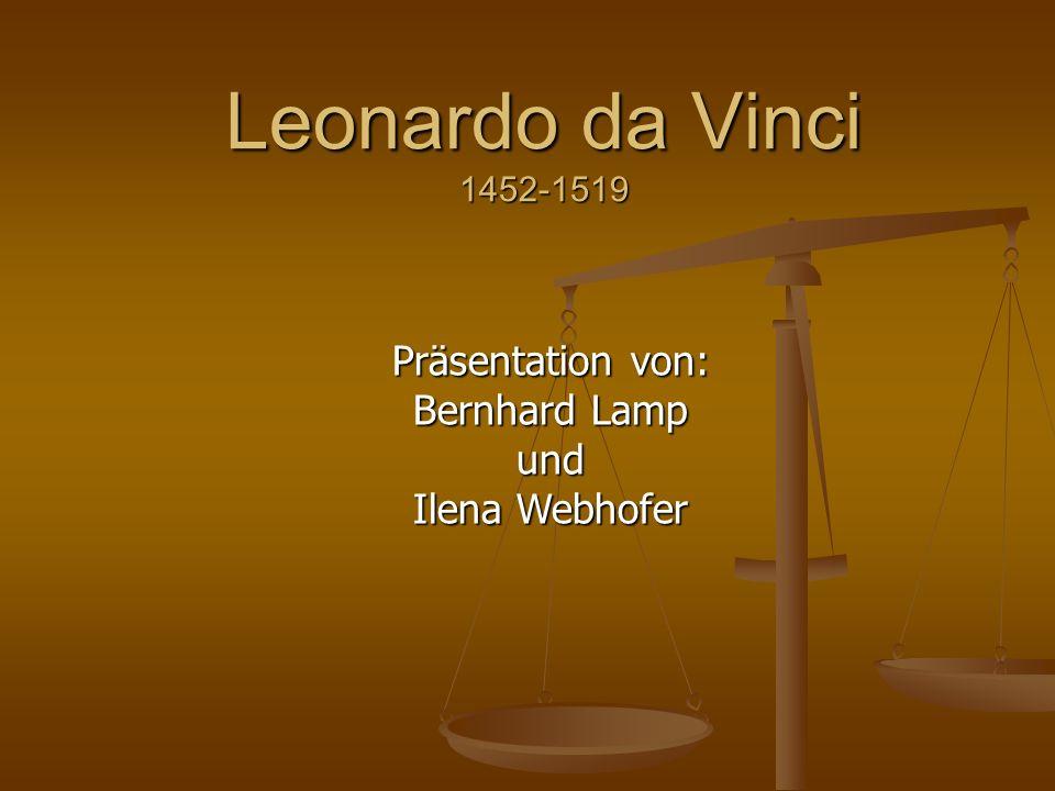 Präsentation von: Bernhard Lamp