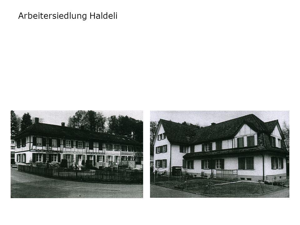 Arbeitersiedlung Haldeli
