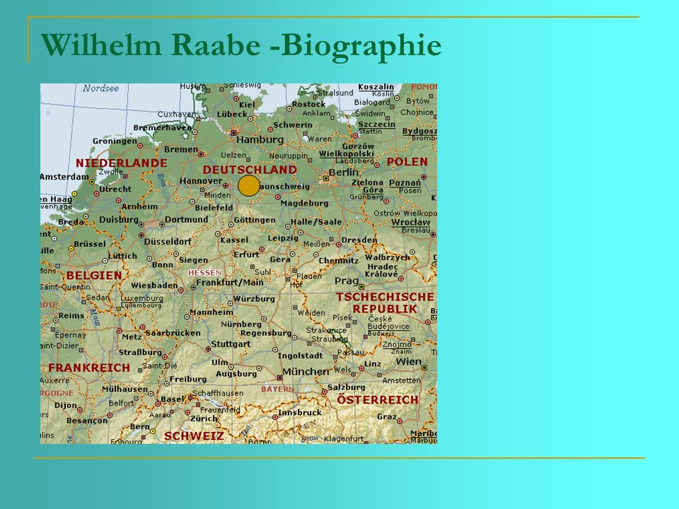 Wilhelm Raabe -Biographie