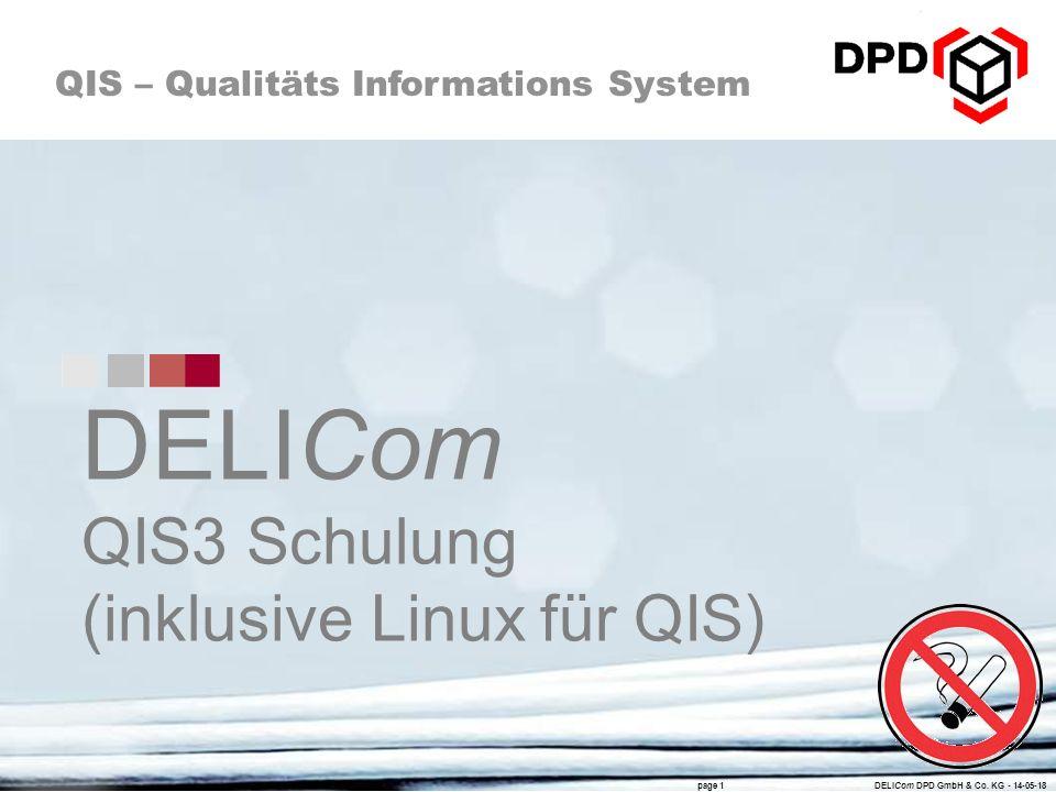 DELICom QIS3 Schulung (inklusive Linux für QIS)