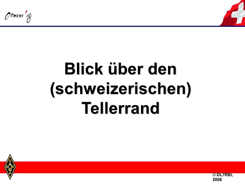Blick über den (schweizerischen) Tellerrand