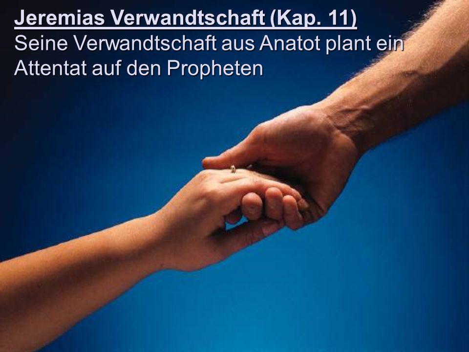 Jeremias Verwandtschaft (Kap