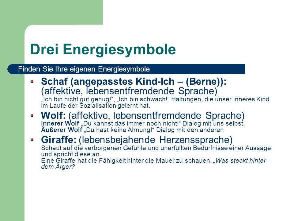 Drei Energiesymbole Finden Sie Ihre eigenen Energiesymbole.