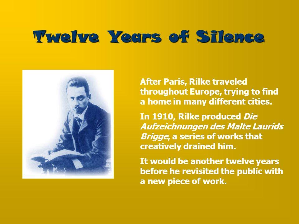 Twelve Years of Silence