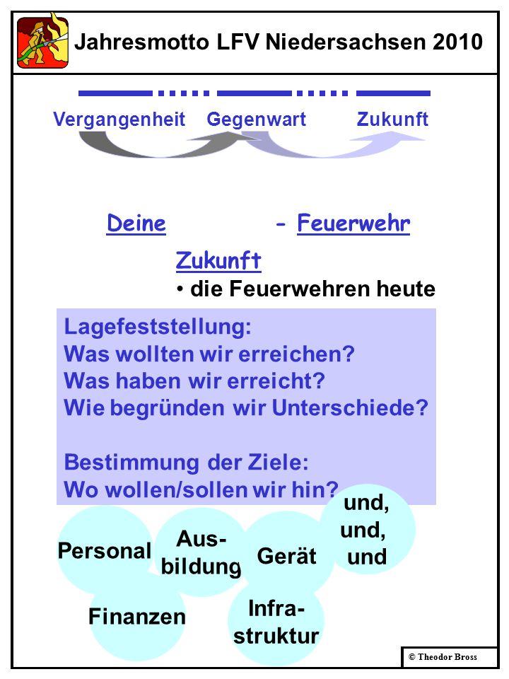 Jahresmotto LFV Niedersachsen 2010