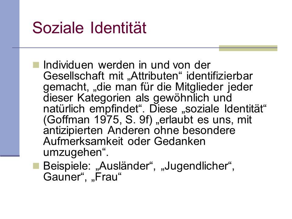 Soziale Identität