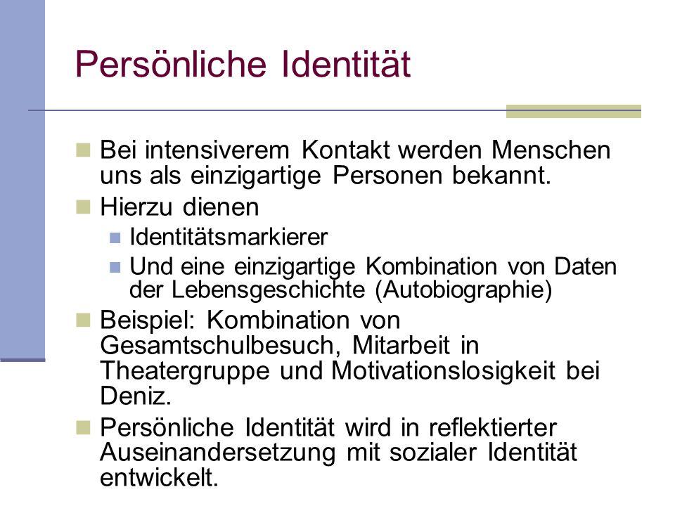 Persönliche Identität