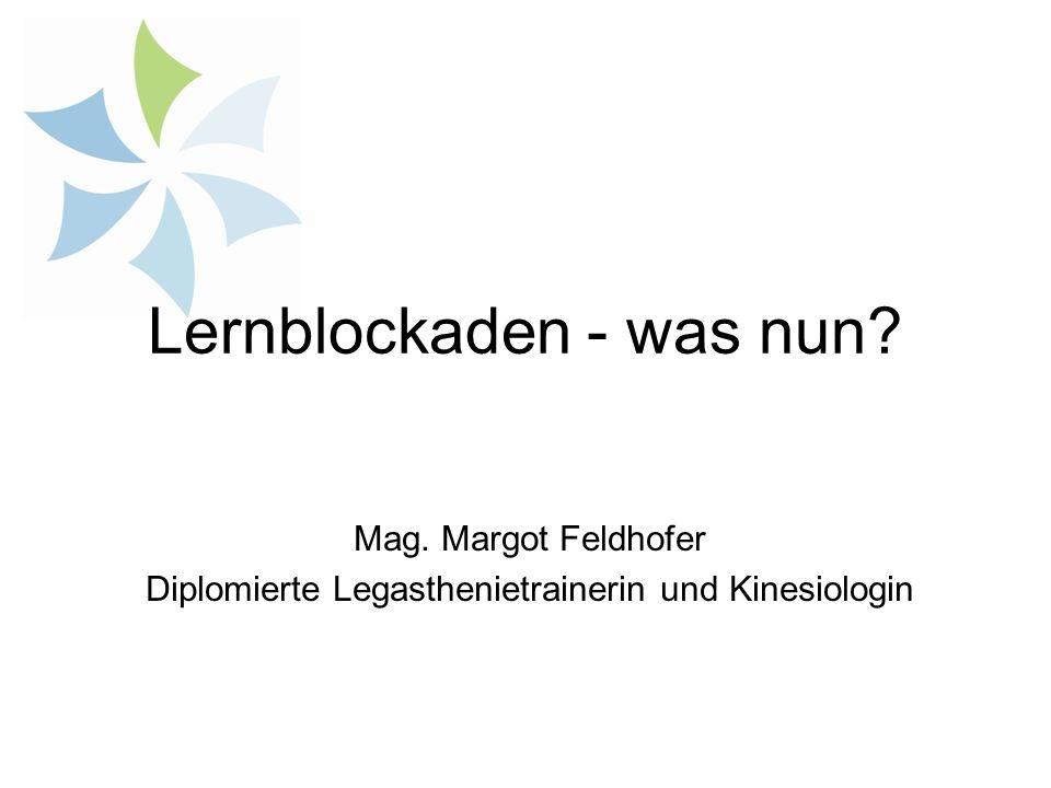 Lernblockaden - was nun