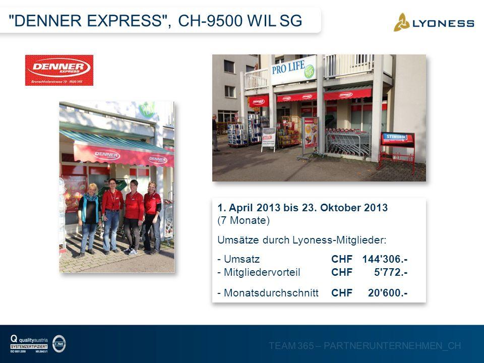 DENNER EXPRESS , CH-9500 WIL SG